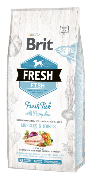 Brit Fresh® Fish Adult Large Muscles & Joints