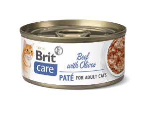 Brit Care® Cans Pate Beef with Olives