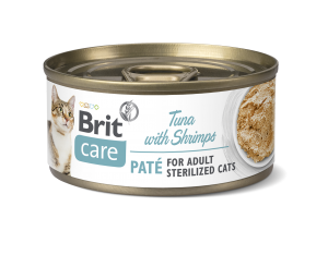 Brit Care® Cans Pate Tuna with Shrimp for sterilised