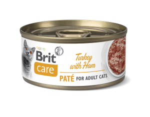Brit Care® Cans Pate Turkey with Ham