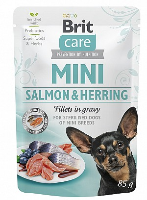 Brit Care Mini® Salmon & Herring for sterilised