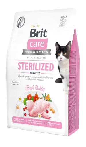 Brit Care® Cat GF Sterilized Sensitive